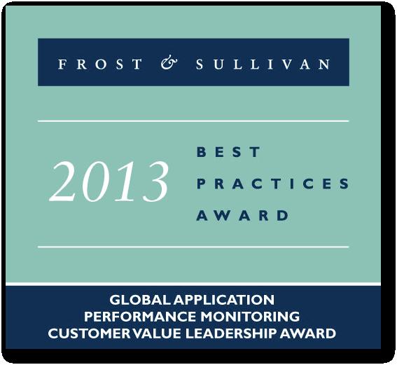 Frost & Sullivan AIMS Global Application Performance Monitoring Award