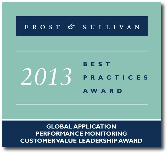 Frost & Sullivan AIMS Global Application Performance Monitoring Award