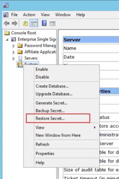 Restoring on the same server
