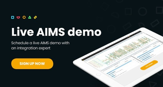 Schedule a live AIMS demo from an integration expert