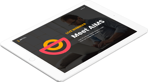 Webinar-Meet AIMS-tablet